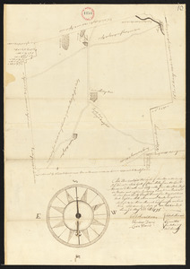 Plan of Charlton surveyor's name not given, dated May 22, 1795.