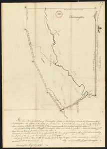 Plan of Farmington, made by Lemuel Perham, dated May, 1795.