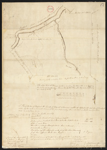 Plan of Bangor made by Elihu Warner, dated October 20, 1795.