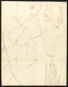 Plan of Holden, made by Jonathan Peirce, dated May 20, 1795.