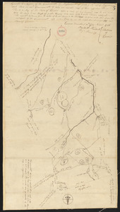 Plan of Carver surveyed by Nehemiah Cobb, dated 1794-5.