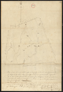 Plan of Attleborough, surveyor's name not given, dated May, 1795.