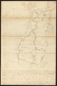 Plan of Lancaster surveyed by Matthias Mossman and Caleb Wilder, Jr., dated May 29, 1795.