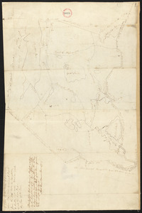 Plan of Barnstable surveyed by Samuel Basset, dated May, 1795.
