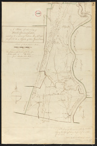 Plan of West Springfield, surveyor's name not given, dated May 20, 1795.