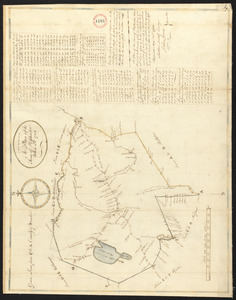 Plan of Hopkinton, made by Matthew Metcalf, dated 1794.
