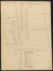 Plan of Longmeadow, surveyor's name not given, dated 1794-5.