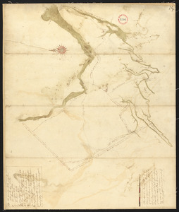 Plan of Brunswick, made by Daniel Given, dated May 20, 1795