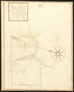 Plan of Belfast surveyed by Alexander Clark, dated 1794.