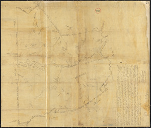 Plan of Middleborough, surveyor's name not given, dated 1794-5.
