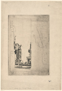 Study for Liberty's Clock