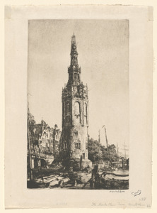 The Montelbaan tower, Amsterdam