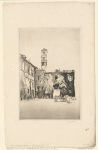 The Tower of St. Silvestro, Rome