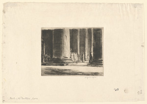Porch of the Pantheon, Rome