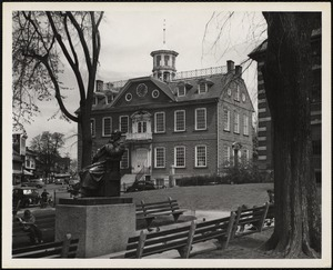 Old State House - Newport R.I. or the Old Colony House