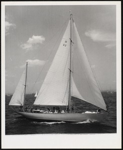 "1966 - Newport - Bermuda Race No. 15-G2 - yawl - ""Germania"" VI"
