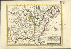 A new map of ye north parts of America claimed by France under ye names of Louisiana, Mississipi, Canada & new France with the adjooyning territories of England & Spain
