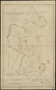 Plan of Lynnfield made by Alonzo Lewis dated October 1831