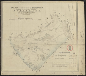 Plan of Brighton made by John G. Hales, dated April 1830