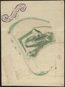 Plan of Provincetown, surveyor's name not given, dated 1831