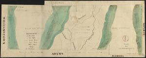 Plan of Clarksburg, surveyor's name not given, dated 1830