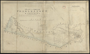 Plan of Charlestown made by John G. Hales, dated August 1830