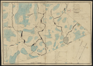Plan of Norton made by C. Leonard and E. Lincoln, dated October 1830