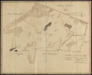 Plan of Egremont made by Moses Loomis, dated 1831