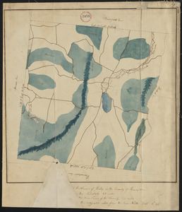 Plan of Wales, surveyor's name not given, dated 1830