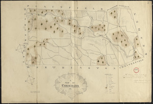 Plan of Cummington, surveyor's name not given, dated June 1831