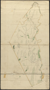 Plan of Phillipston made by Jason Lamb, dated November 1830
