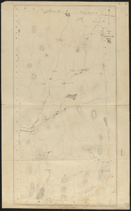Plan of Spencer, surveyor's name not given, dated November 1830