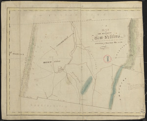 Plan of New Ashford made by Phinehas Harmon, dated October 1830