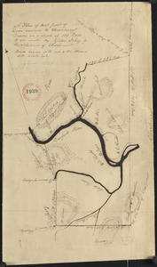 Plan of Charlemont (Zoar) made by John Tobey, dated June 1839