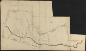 Plan of Charlemont made by Levi Leonard, dated September 1830