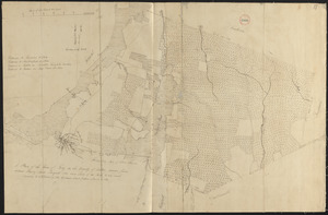 Plan of Fall River (Troy), surveyor's name not given, dated August 1831