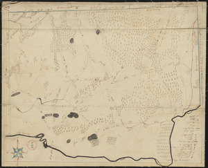 Plan of Ludlow, surveyor's name not given, dated 1830