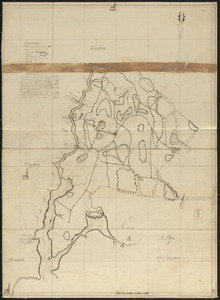 Plan of Berkley, surveyor's name not given, dated August 1830
