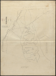 Plan of Webster, surveyor's name not given, dated 1830