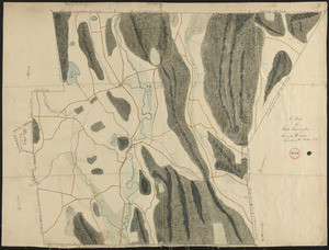 Plan of Great Barrington, surveyor's name not given, dated 1830