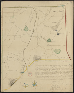 Plan of Ashby, surveyor's name not given, dated 1830