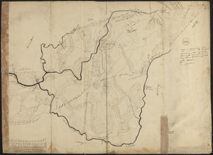 Plan of Palmer made by William Woods, dated 1830