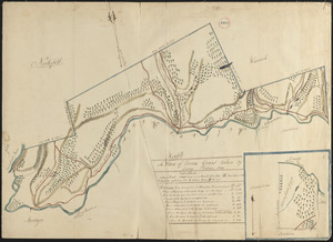 Plan of Erving's Grant (Erving), surveyor's name not given, dated October 1830