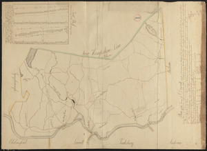 Plan of Dracut made by B. F. Varnum, dated October 31, 1831