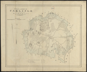 Plan of Carlisle made by John G. Hales, dated 1831