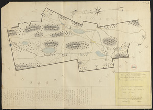 Plan of Greenwich made by E. S. Darling, dated October, 1830
