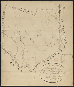 Plan of Middlefield made by Luke Barber, dated February 26, 1831