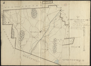 Plan of Southampton made by Justus Dwight, dated November 1830