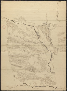 Plan of Ware, surveyor's name not given, dated 1830