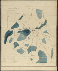 Plan of Warren (Western), surveyor's name not given, dated October 24, 1831